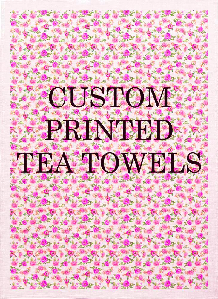 Custom Printing Tea Towels Australia | Custom Textile Printing Australia