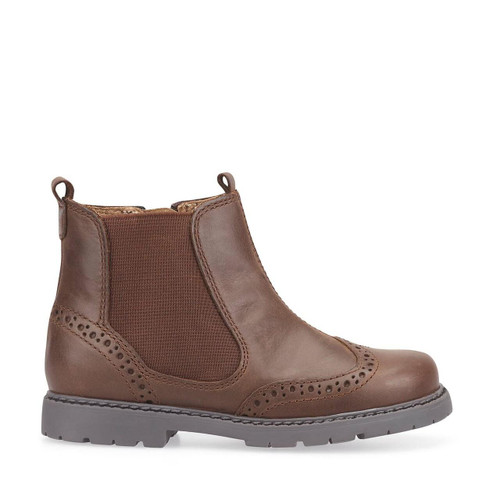 Start-Rite Chelsea, brown leather zip-up boots 1727_0