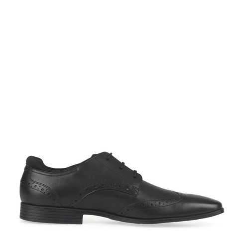 Start-Rite Tailor, black leather boys lace-up school shoes 3513_7