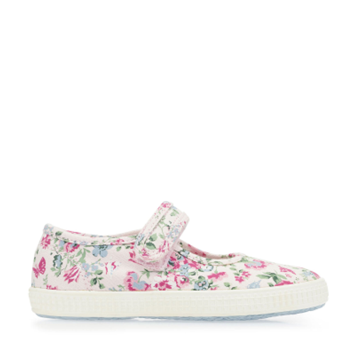 Posy, Pink Floral Girls Riptape Canvas 6881_8