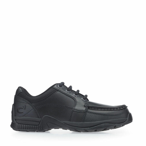 Start-Rite Dylan, black leather boys lace-up school shoes 8223_7