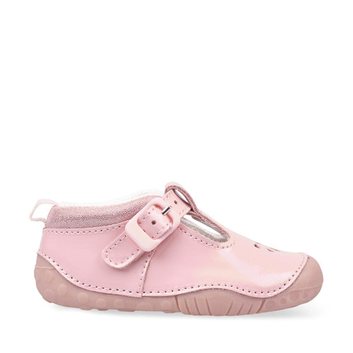 Start-Rite Baby Bubble, pink patent girls t-bar buckle pre-walkers 0773_6