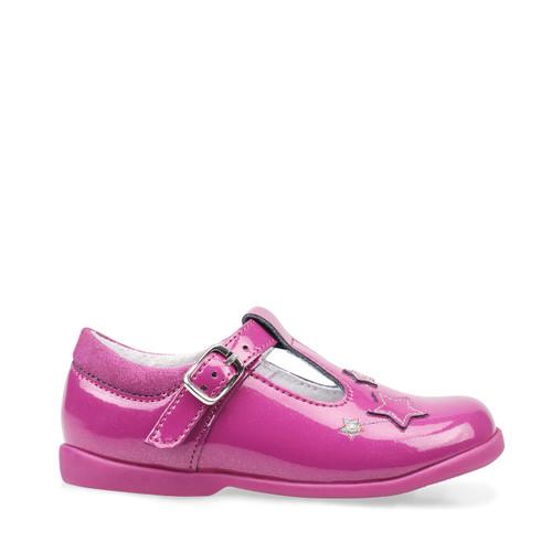 Start-Rite Star Gaze, berry glitter patent girls t-bar buckle first walking shoes 1478_8
