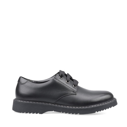 Start-Rite Impact, black leather girls lace-up school shoes 3518_7