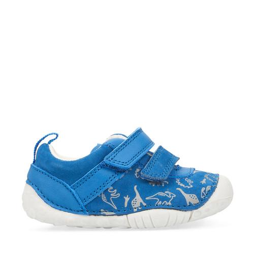 Start-Rite Roar, bright blue boys riptape pre-walkers 0767_2