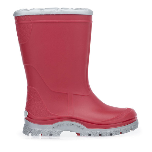 Start-Rite Mudbuster, Red slip-on waterproof wellies 0229_1
