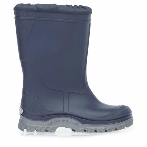 Start-Rite Mudbuster, Navy blue slip-on waterproof wellies 0229_9