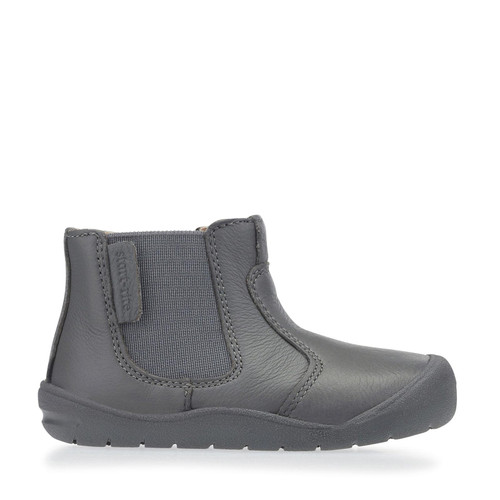 Start-Rite First Chelsea, grey zip-up first walking boots 0750_5