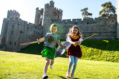 Win a family ticket to Warwick Castle and free shoes for a year!