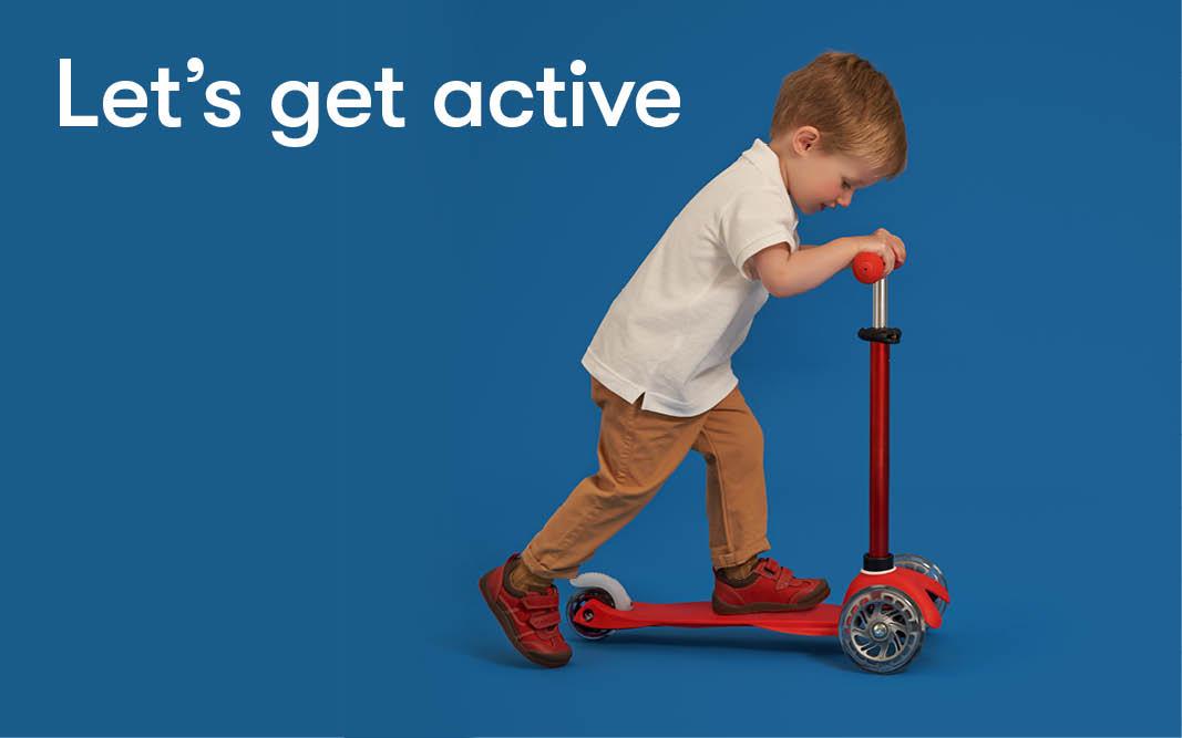 Children's foot development -toddling and pre-school