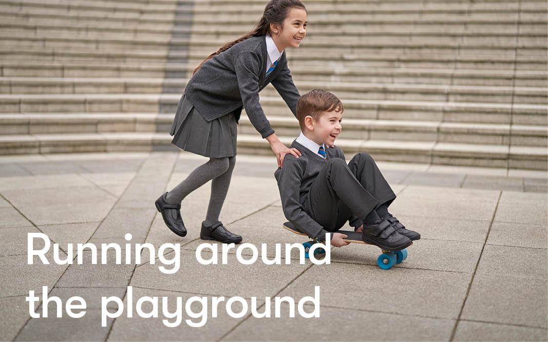 Children's foot development - school age