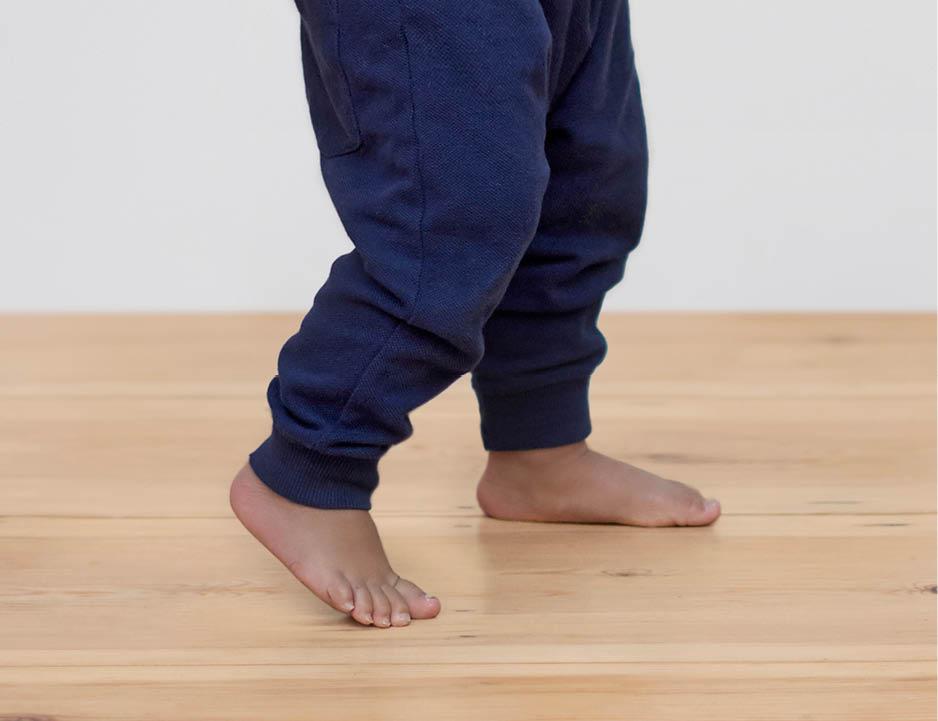 Tips for caring for children's feet