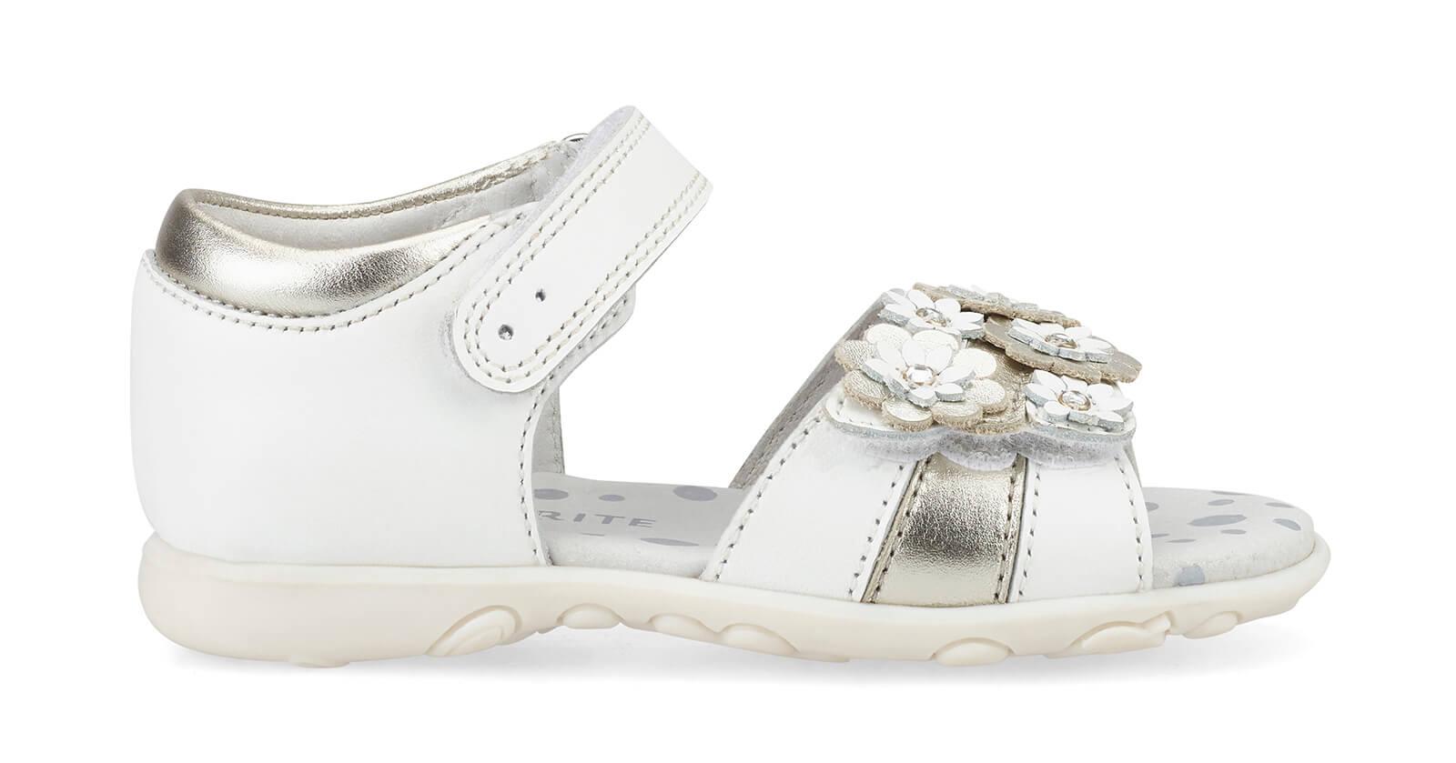 Bloom white sandals