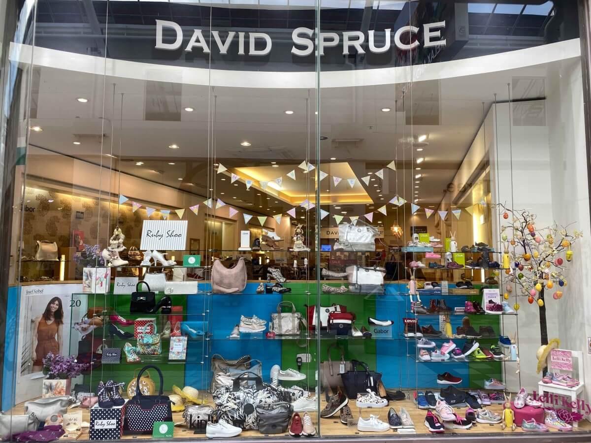 David Spruce shop front