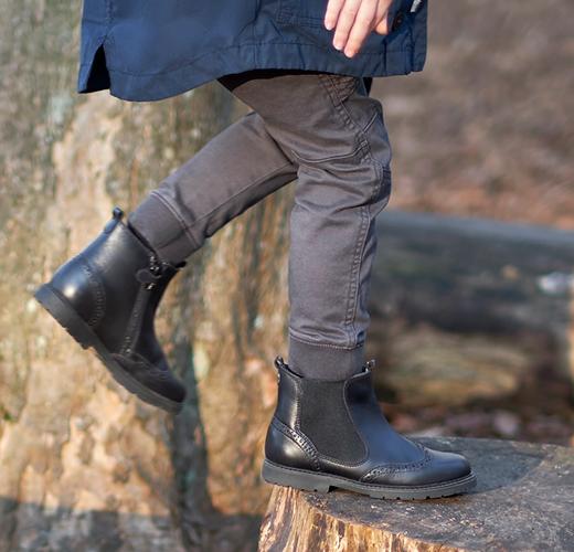 Boy in Start-Rite Chelsea Boots