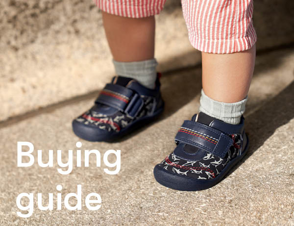 Learn what to look for when buying babies shoes