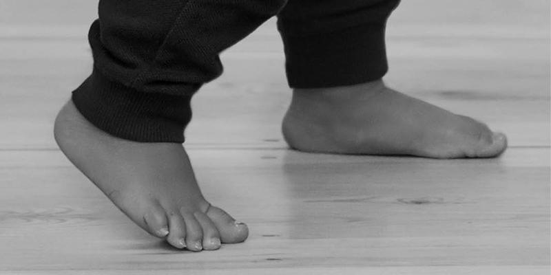 Barefoot Toddler