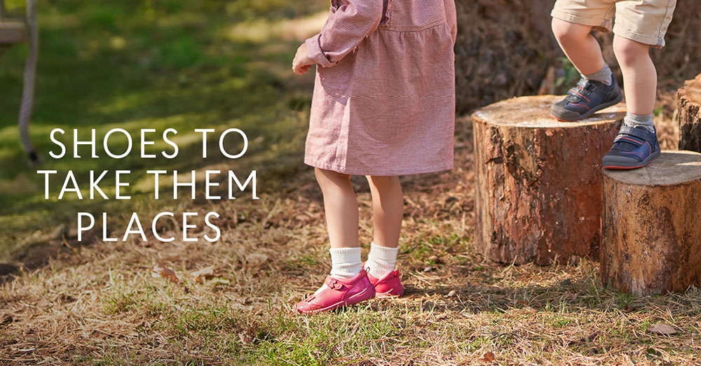 Shoes to take them places