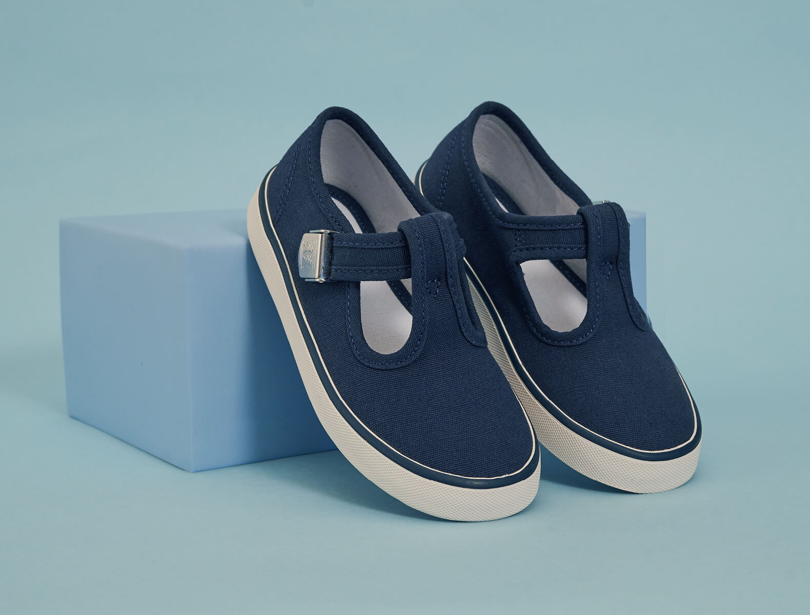 Canvas shoes perfect for sunny days