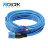 Home and Garden  50' 14/3 SJTW Pro Lock Ext Cord (Blue)