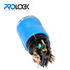 Locking connector 15 Amps Female U-Ground Blue Collar Internal conections
