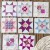 Little Miss Sawtooth Quilt Pattern (PRINTED PATTERN)