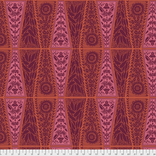 Free Spirit Fabrics - New Dresden Lace Pumpkin - Triple Take - By Anna Maria Horner