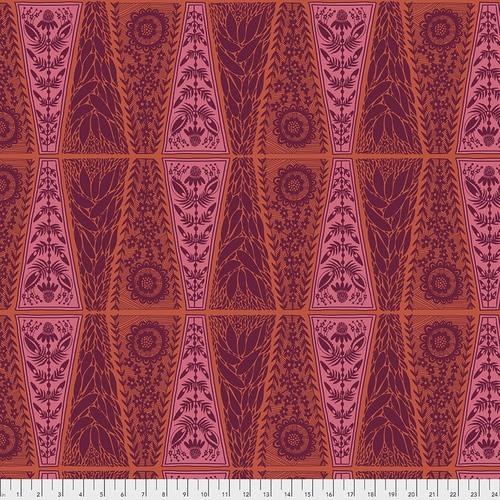 Free Spirit Fabrics - New Dresden Lace Pumpkin - Triple Take - By Anna Maria Horner
