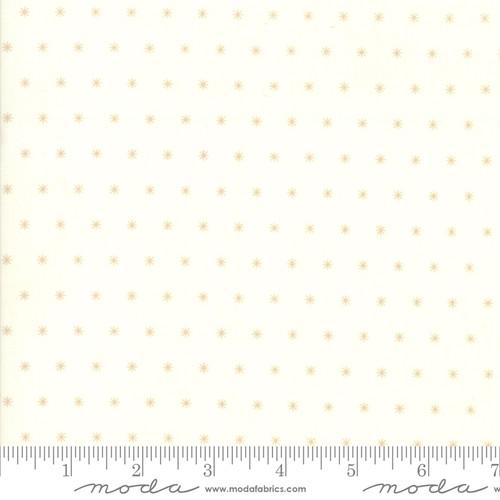 Moda Fabrics - Snowflake Natural - Christmas Figs II - By Fig Tree