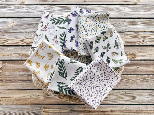 Wildflowers ( cotton linen ) - 7 pieces - Boccaccini Meadows