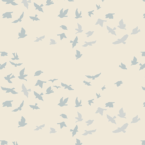 Art Gallery Fabrics - Aves Chatter Serenity - Serenity Fusion - By AGF Studio