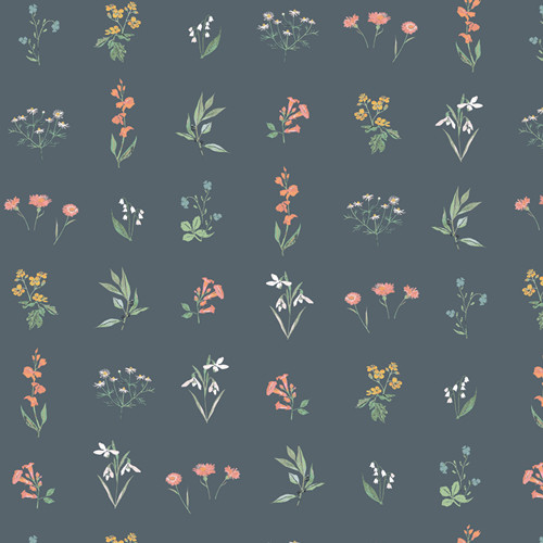Art Gallery Fabrics - Botanical Study Soft - Picturesque - Katarina Roccella