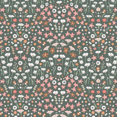 Art Gallery Fabrics - Painted Field Tangerine - Picturesque - Katarina Roccella