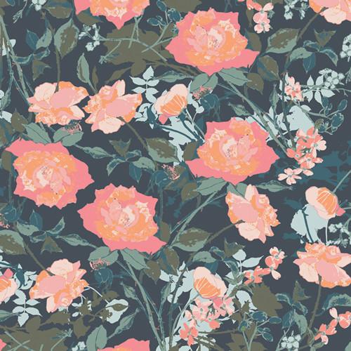 Art Gallery Fabrics - Romantic Trellis Dim - Picturesque - Katarina Roccella