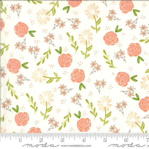 Moda Fabrics - Wild Rose Ivory - Balboa - Sherri and Chelsi