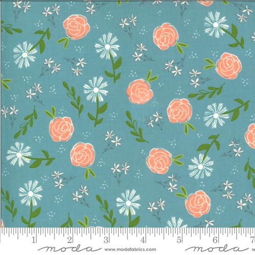 Moda Fabrics - Wild Rose Ocean - Balboa - Sherri and Chelsi