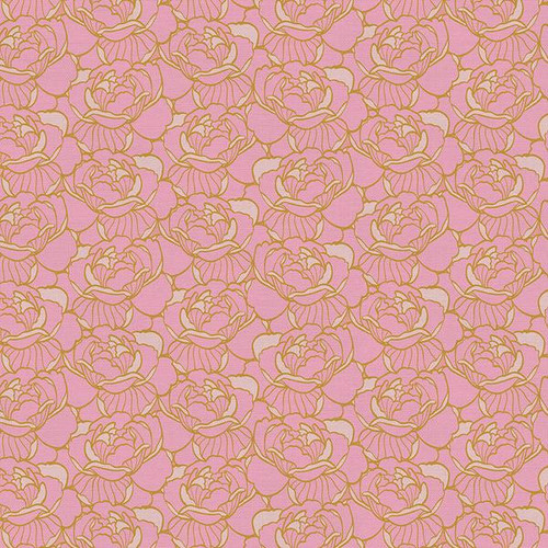 Paintbrush Studios - Floral Pink - Tiger Lily Trail - Teresa Chan