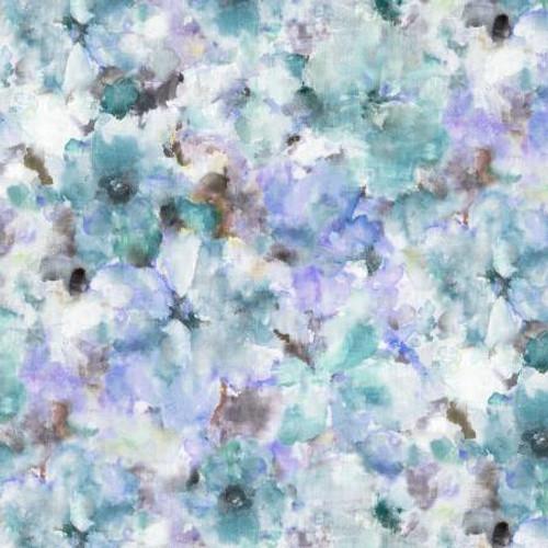 Michael Miller Fabrics - Blue Watercolors - Wide Back Prints - Michael Miller Collection
