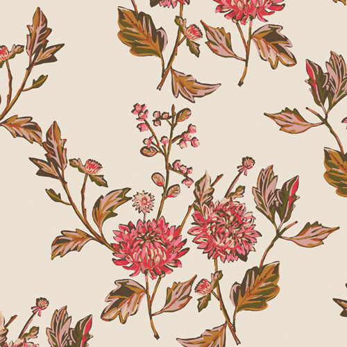 Art Gallery Fabrics - Cut Flowers Fortune - Kismet - By Sharon Holland