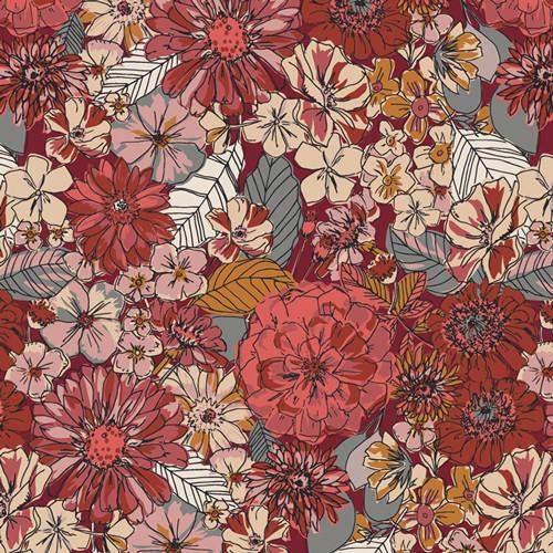 Art Gallery Fabrics - Fleuron Sanctuary - Kismet - By Sharon Holland
