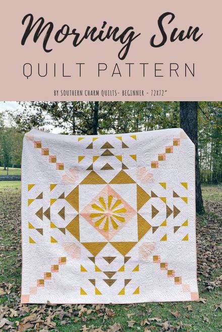 Morning Sun Quilt Pattern - Paper Pattern