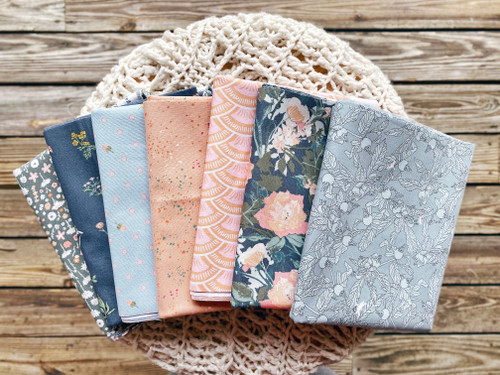 Early Morning Bundle - 7 pieces - Curated for the Morning Sun Quilt