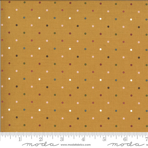 Moda Fabrics - Magic Dot Golden - Folktale - Lella Boutique