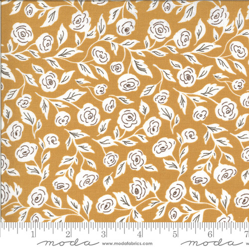 Moda Fabrics - Enchanted Bloom Golden - Folktale - Lella Boutique