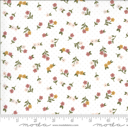 Moda Fabrics - Posie Gathering Cloud - Folktale - Lella Boutique