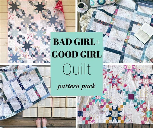 Good Girl + Bad Girl Pattern Pack - PDF - Automatic Download