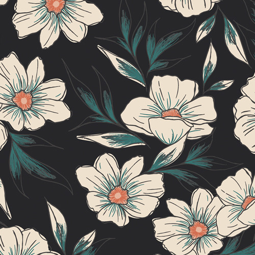 Art Gallery Fabrics - Tinted Blooms - Luna & Laurel - By AGF Studio