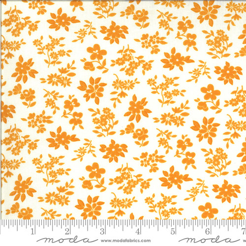 Moda Fabrics - Tossed Blooms Cheddar - Blooming Bunch  - Maureen McCormick