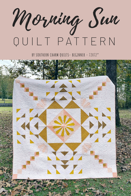 Morning Sun Quilt Pattern - PDF - Automatic Download