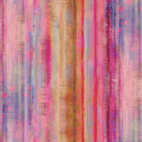 P & B Textiles - Pink - Tahiti Dreams - By P & B Textiles - WIDE BACK